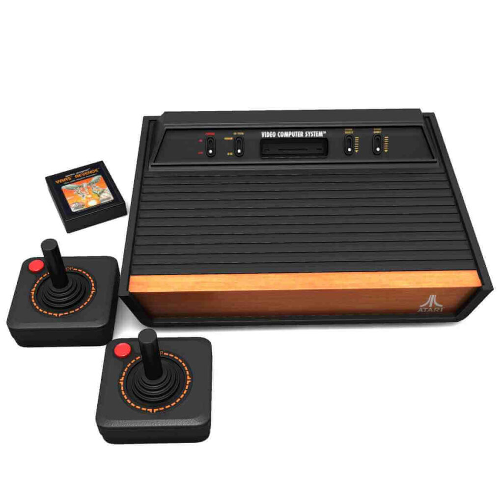 Atari-2600, history of video games